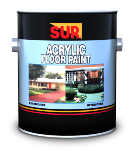 ACRYLIC FLOOR PAINT S/C
