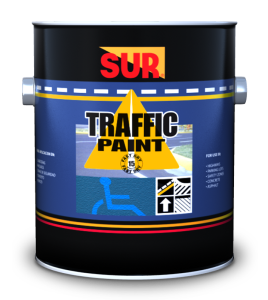 TRAFFIC PAINT WATERBORNE WHITE