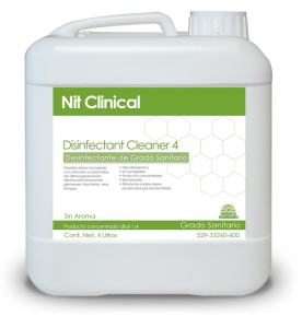 DISINFECTANT CLEANER 4