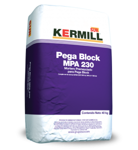 MORTERO PEGA BLOCK MPA 230