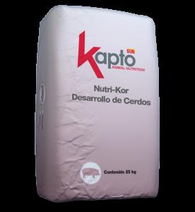 NUTRI-KOR DESARROLLO DE CERDOS