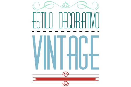 Titulo Estilo Vintage