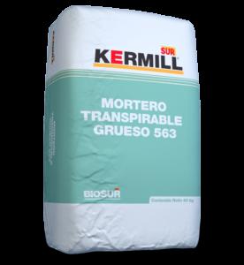 MORTERO TRANSPIRABLE GRUESO 563