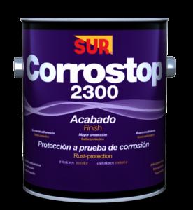 CORROSTOP 2300 ACABADO ALUMINIO