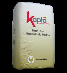 NUTRI-KOR ENGORDE DE POLLOS
