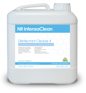 NIT INTENSACLEAN DISINFECTANT CLEANER 4 OXY